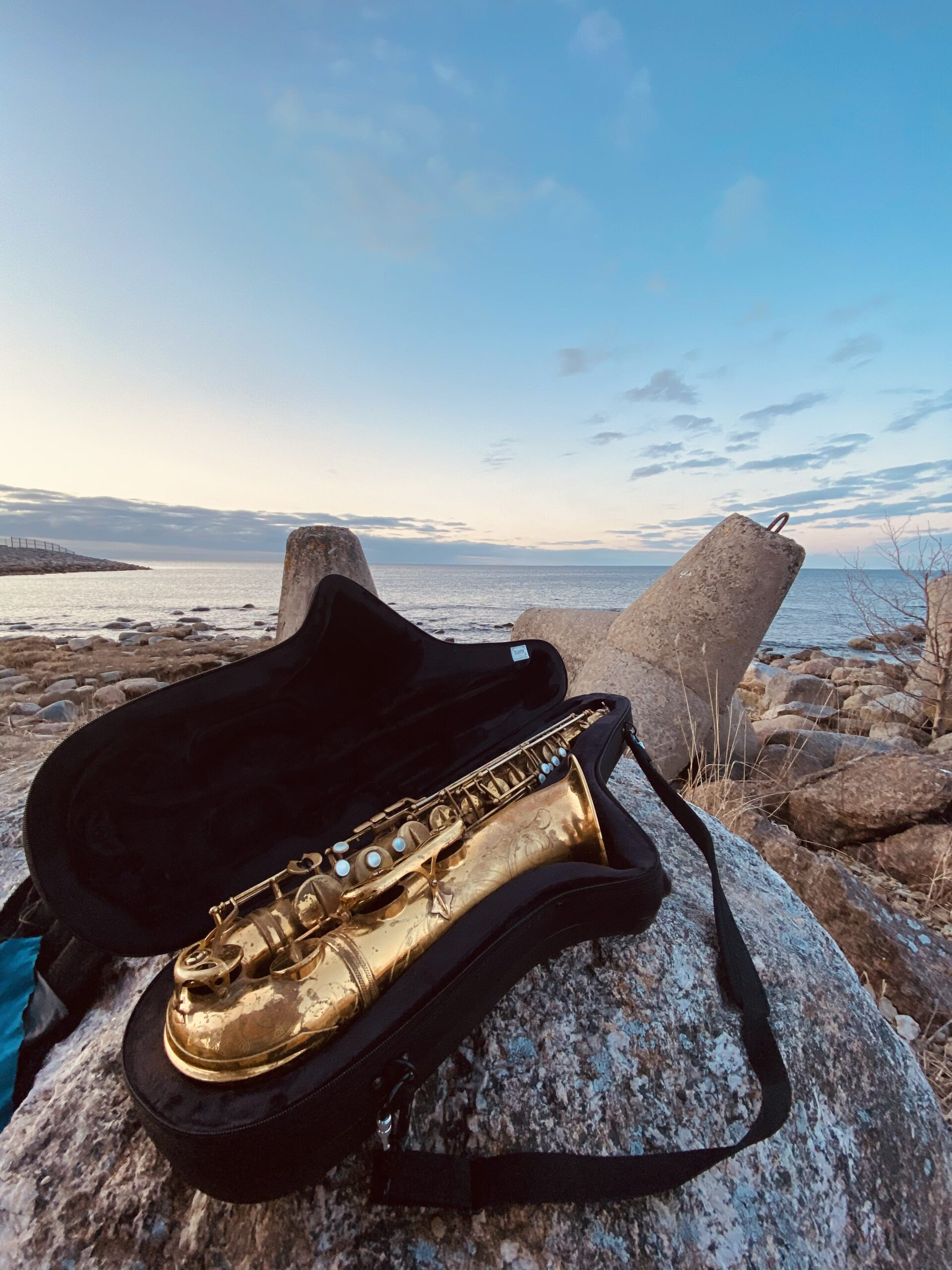 saksofon kivil