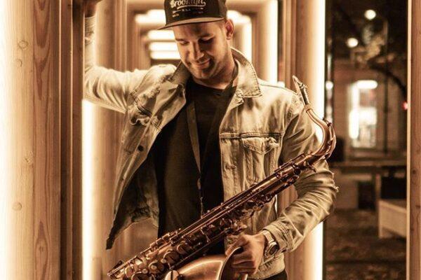 Saxophonist Henri Aruküla